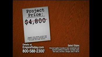 Empire Today 50/50/50 Sale TV Spot, 'Biggest Sale' - Thumbnail 5