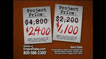 Empire Today 50/50/50 Sale TV Spot, 'Biggest Sale' - Thumbnail 6