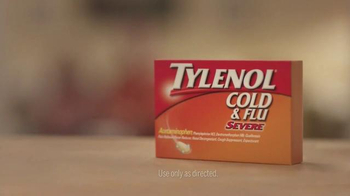 Tylenol Cold & Flu Severe TV Spot, 'Carry On' - Thumbnail 7