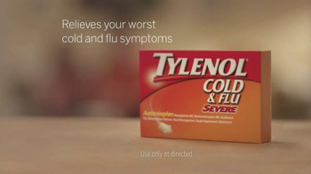 Tylenol Cold & Flu Severe TV Spot, 'Carry On' - Thumbnail 8