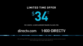 DIRECTV TV Spot, 'Creepy Rob Lowe' - Thumbnail 9