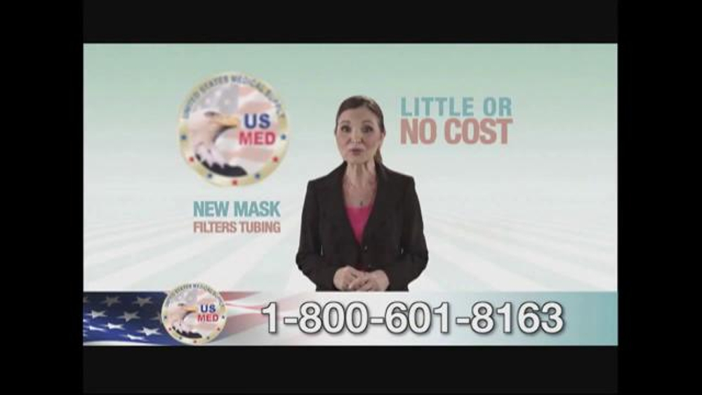 United States Medical Supply TV Commercial, 'CPAP Mask' - Video