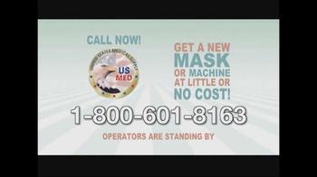 United States Medical Supply TV Spot, 'CPAP Mask' - Thumbnail 10