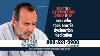 Ferrer, Poirot and Wansbrough TV Spot, 'Erectile Dysfunction' - Thumbnail 3