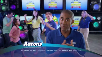 Aaron's Big Score Savings Event TV Spot, 'Prize Wheel'