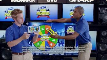 Aaron's Big Score Savings Event TV Spot, 'Prize Wheel' - Thumbnail 3