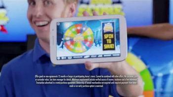 Aaron's Big Score Savings Event TV Spot, 'Prize Wheel' - Thumbnail 4