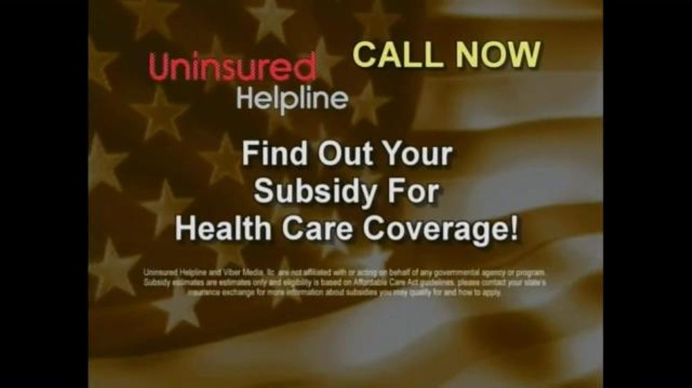 Uninsured Helpline TV Commercial, 'Your Obamacare is Now ...
