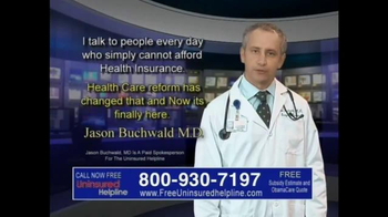 Uninsured Helpline TV Spot, 'Your Obamacare is Now Available' - Thumbnail 5