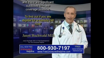 Uninsured Helpline TV Spot, 'Your Obamacare is Now Available' - Thumbnail 7