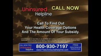 Uninsured Helpline TV Spot, 'Your Obamacare is Now Available' - Thumbnail 8