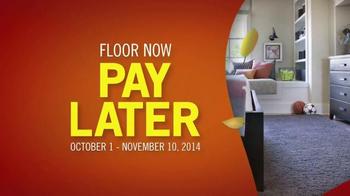 Shaw Flooring TV Spot, 'Floor Now Pay Later' - Thumbnail 6