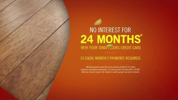 Shaw Flooring TV Spot, 'Floor Now Pay Later' - Thumbnail 8