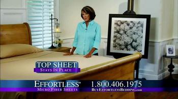 Effortless Sheets TV Spot - Thumbnail 2