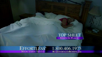 Effortless Sheets TV Spot - Thumbnail 7