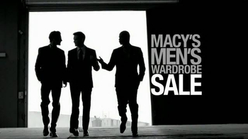 Macy's Men's Wardrobe Sale TV Spot, 'Suits from your Favorite Designers' - Thumbnail 10