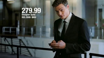 Macy's Men's Wardrobe Sale TV Spot, 'Suits from your Favorite Designers' - Thumbnail 4