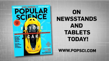 Popular Science Magazine October 2014 Issue TV Spot, 'Future of the Car' - Thumbnail 10