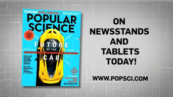 Popular Science Magazine October 2014 Issue TV Spot, 'Future of the Car' - Thumbnail 9