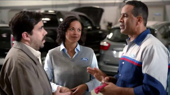 Ford Service Big Tire Event TV Spot, 'Level of Confidence' - Thumbnail 7