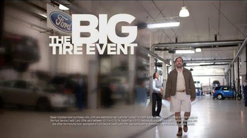 Ford Service Big Tire Event TV Spot, 'Level of Confidence' - Thumbnail 8