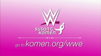 Susan G. Komen for the Cure TV Spot, 'WWE for the Cure' - Thumbnail 10