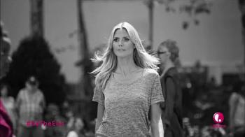 Lifetime Channel TV Spot, 'Breast Cancer PSA' Featuring Heidi Klum - Thumbnail 5