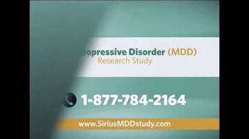 Sirius MDD Study TV Spot - Thumbnail 9