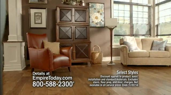 Empire Today 50/50/50 Sale TV Spot, 'Free In-Home Estimate' - Thumbnail 1