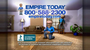 Empire Today 50/50/50 Sale TV Spot, 'Free In-Home Estimate' - Thumbnail 10