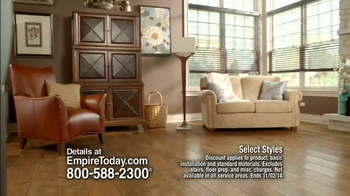 Empire Today 50/50/50 Sale TV Spot, 'Free In-Home Estimate' - Thumbnail 2