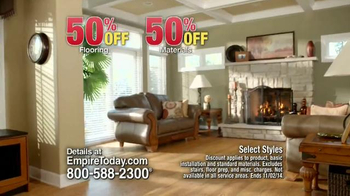Empire Today 50/50/50 Sale TV Spot, 'Free In-Home Estimate' - Thumbnail 4