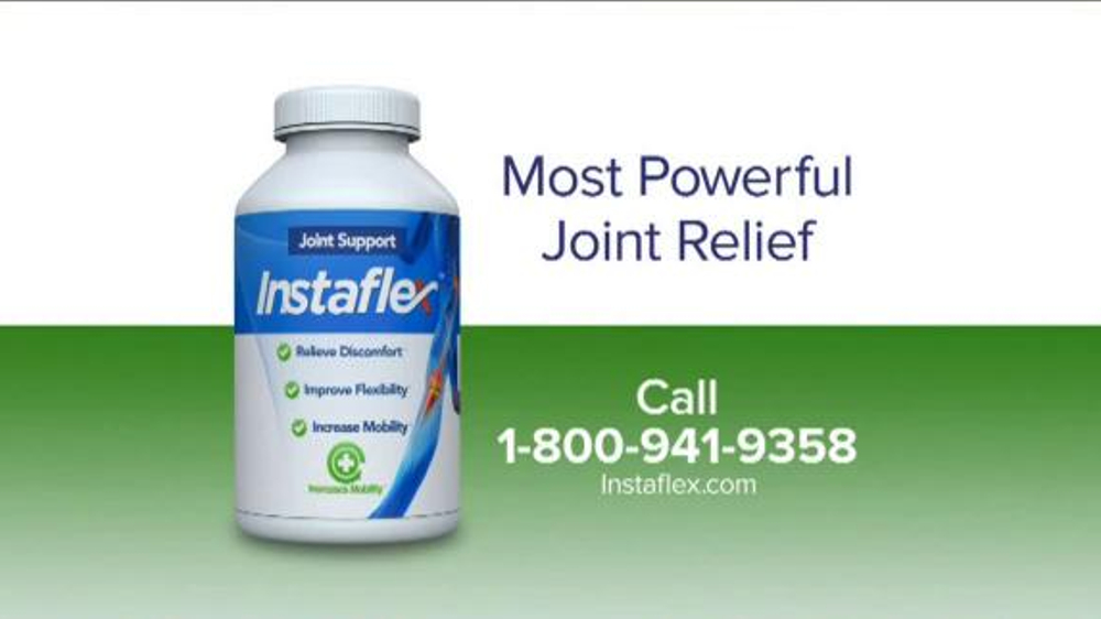 Instaflex TV Commercial, 'Most Powerful Joint Pain Relief'