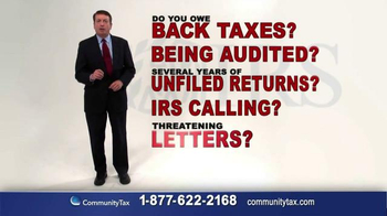 Community Tax TV Spot, 'Protection From the IRS'