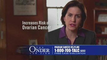 Onder Law Firm TV Spot, 'Talcum Powder Ovarian Cancer'