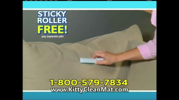 Kitty Clean Mat TV Spot - Thumbnail 9