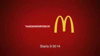McDonald's TV Spot, 'Monopoly: Top Hat' Feat. LeBron James, Patrick Kane - Thumbnail 9