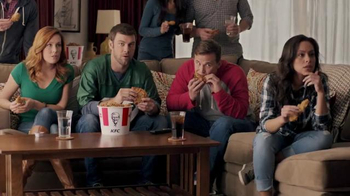 KFC Favorites Bucket TV Spot, 'Couchgating' - 363 commercial airings