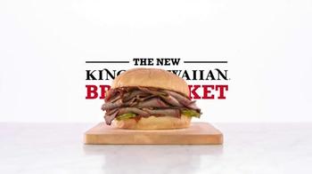 Arby's King's Hawaiian BBQ Brisket TV Spot, 'Aloha Cowboy' - Thumbnail 6