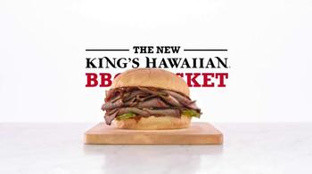 Arby's King's Hawaiian BBQ Brisket TV Spot, 'Aloha Cowboy' - Thumbnail 7