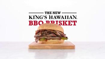 Arby's King's Hawaiian BBQ Brisket TV Spot, 'Aloha Cowboy' - Thumbnail 8