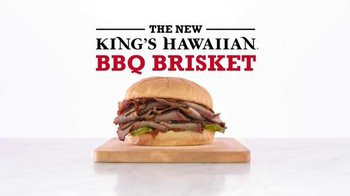 Arby's King's Hawaiian BBQ Brisket TV Spot, 'Aloha Cowboy' - 3750 commercial airings