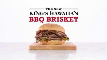Arby's King's Hawaiian BBQ Brisket TV Spot, 'Aloha Cowboy'