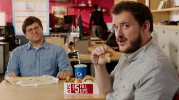 KFC $5 Fill Ups TV Spot, 'Long Sandwich'