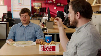 KFC $5 Fill Ups TV Spot, 'Long Sandwich' - Thumbnail 4