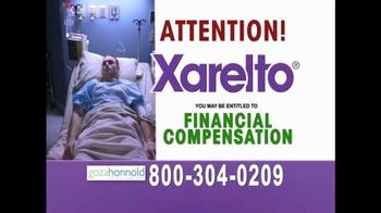 Goza Honnold Trial Lawyers TV Spot, 'Xarelto' - Thumbnail 5