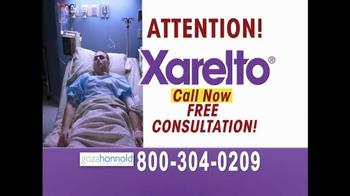 Goza Honnold Trial Lawyers TV Spot, 'Xarelto' - Thumbnail 6