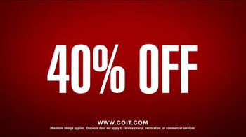COIT 40% Off TV Spot, 'Save on Any Cleaning Service' - Thumbnail 10