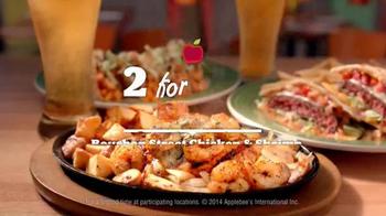 Applebee's 2 for $20: Bourbon Street Chicken & Shrimp TV Spot, 'Beautiful' - Thumbnail 1
