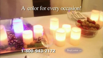Luma Candles TV Spot, 'Changing LED Candles' - Thumbnail 4